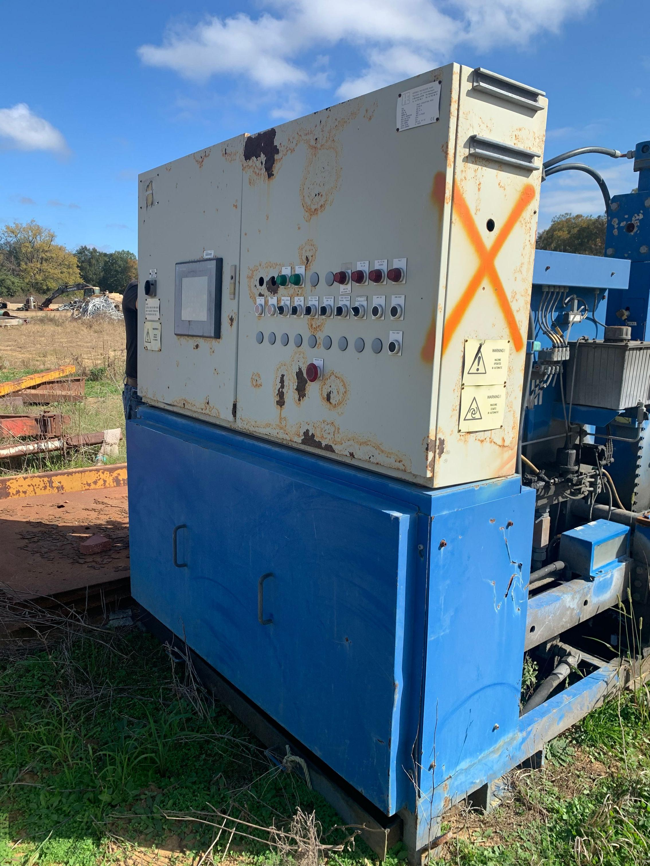 Hertwich Swarf Briquetting Press (1 unit)