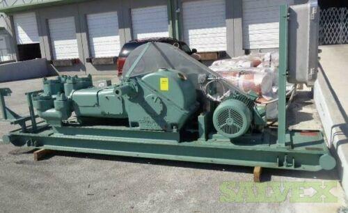 Gardner Denver 200-FXX-001 Duplex Pump for Oil, Mud, Grout and Cement (Unused)