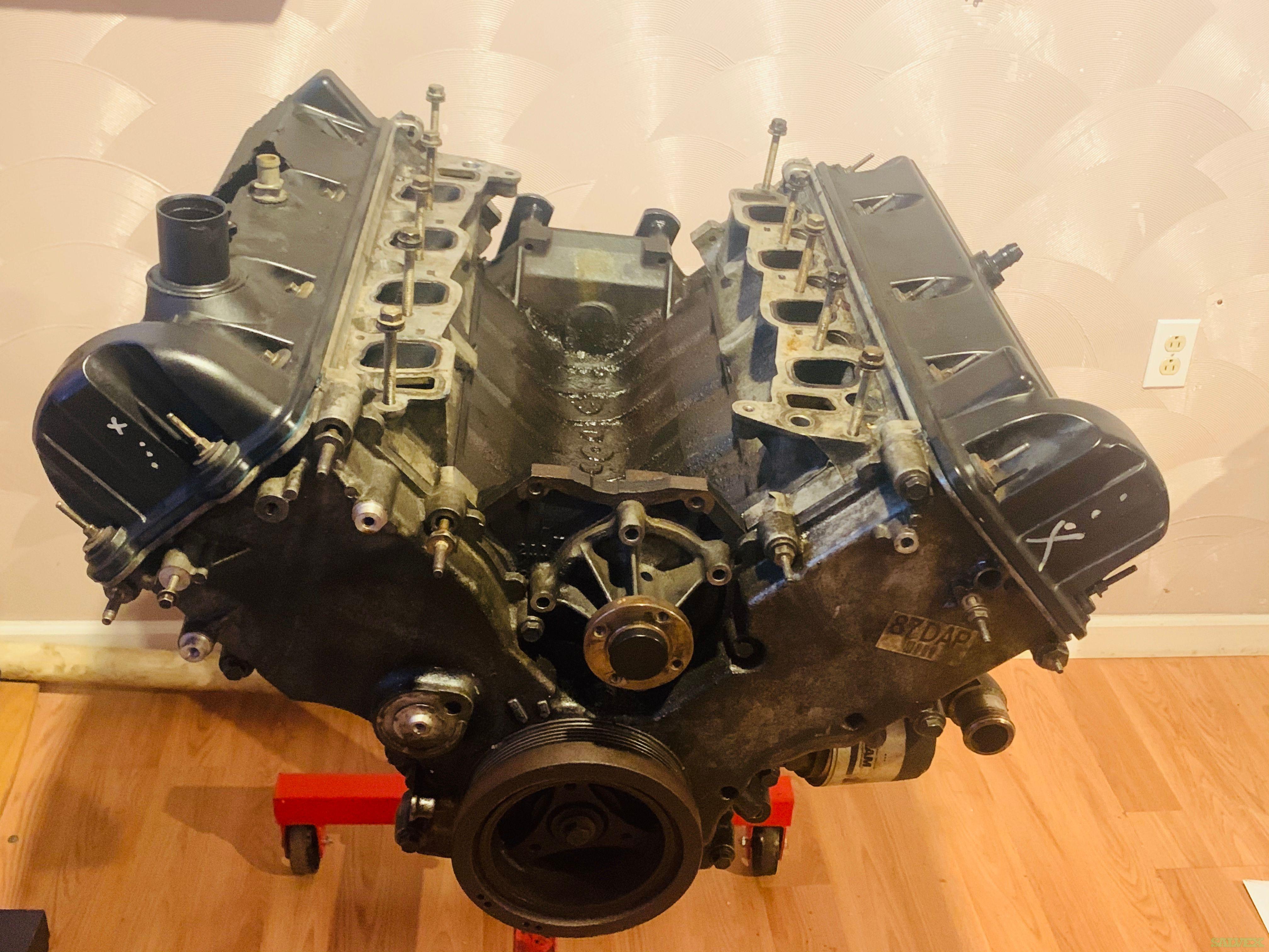 Mustang GT 2 Valve Engine 2002