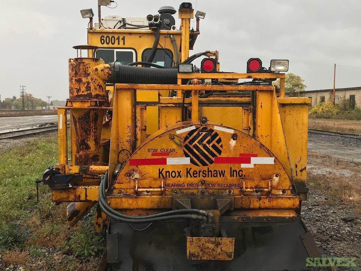 Knox-Kershaw Kribber Adzer - for Railway Maintenance / Clearing Cribs
