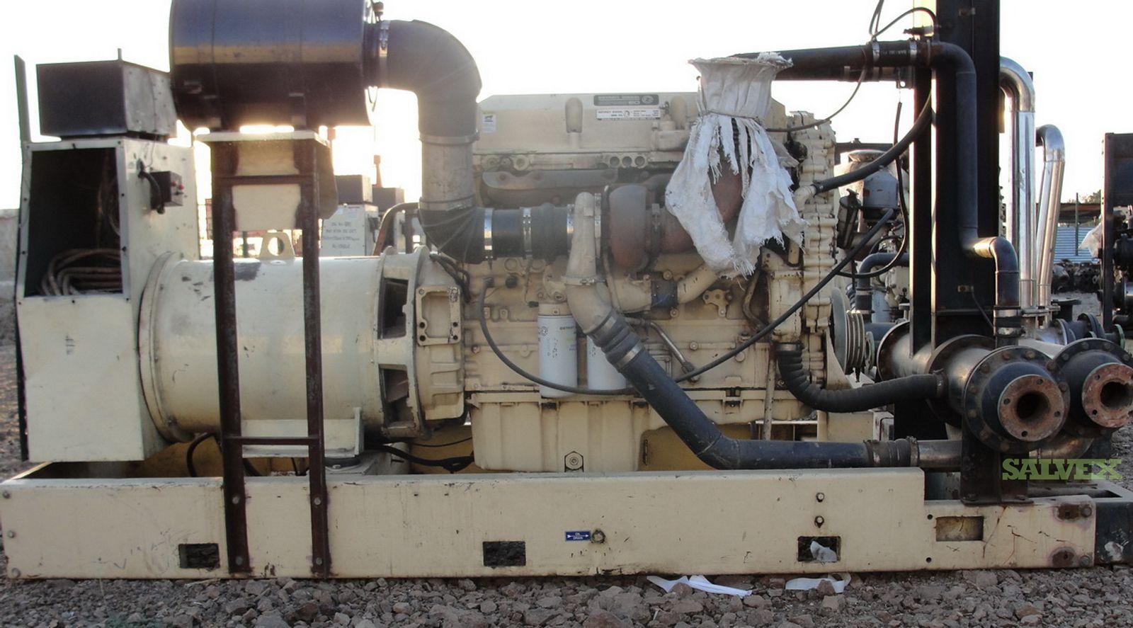 7 X Kohler 360P5 360 kva Detroit Series 60 Generator set for sale.