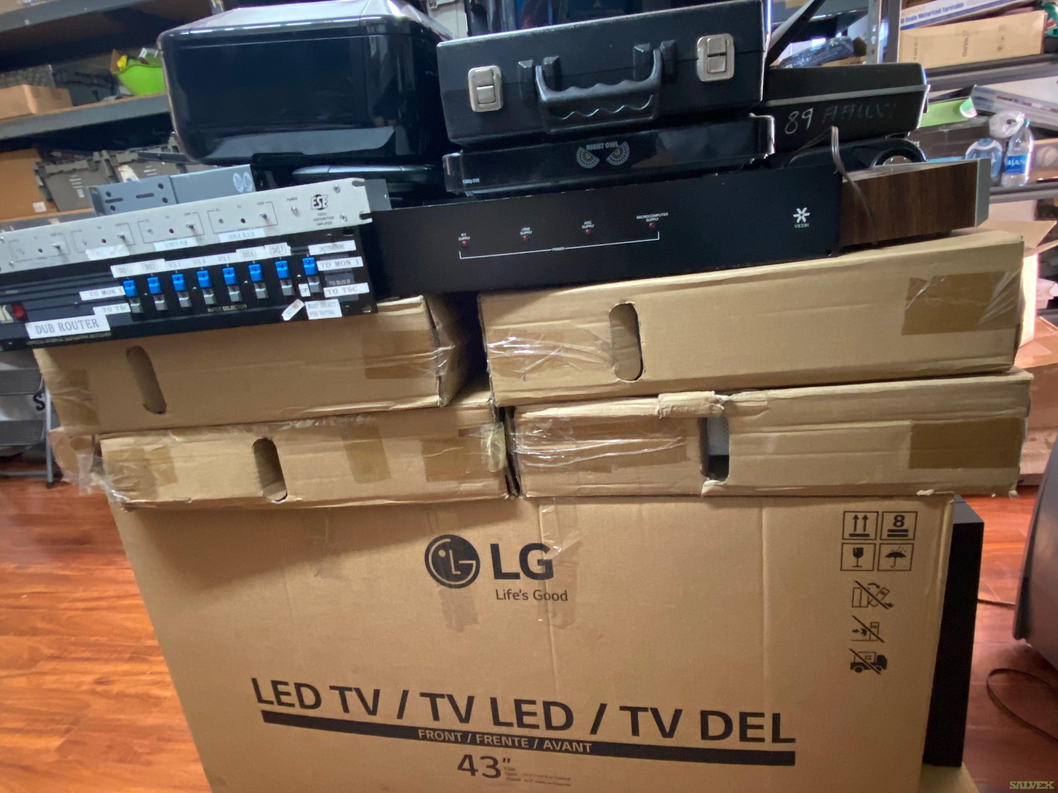 Electronics, Laptops, Printers, Monitors,  Studio TV Equipment (41 Units) in Los Angeles, California