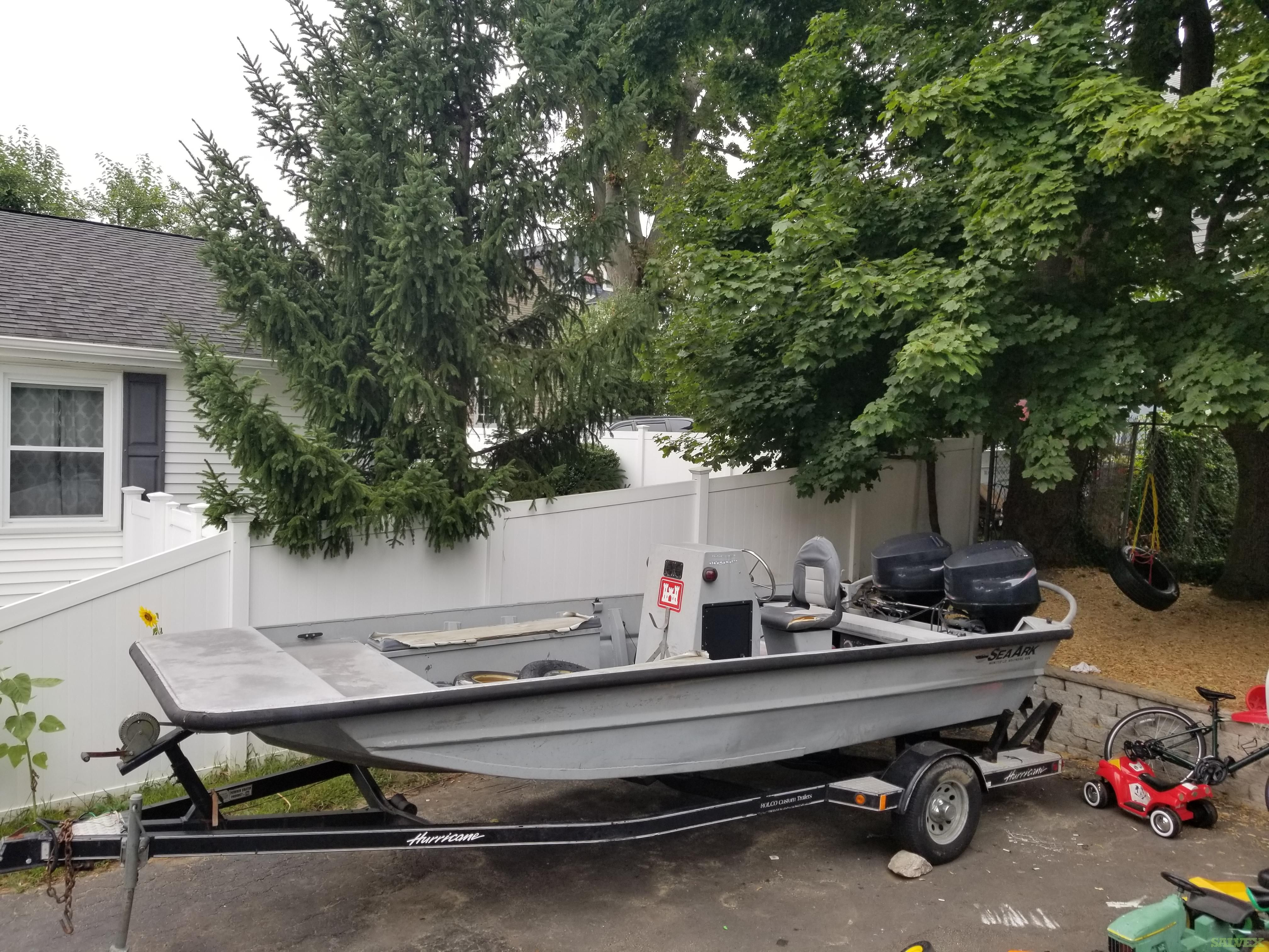 Sea Ark RiverRunner 18ft Boat 1997