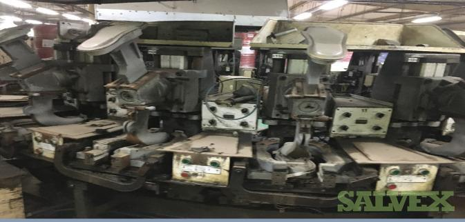 Shoe Injection Molding Machine with 04 Shoe Chemical Storage