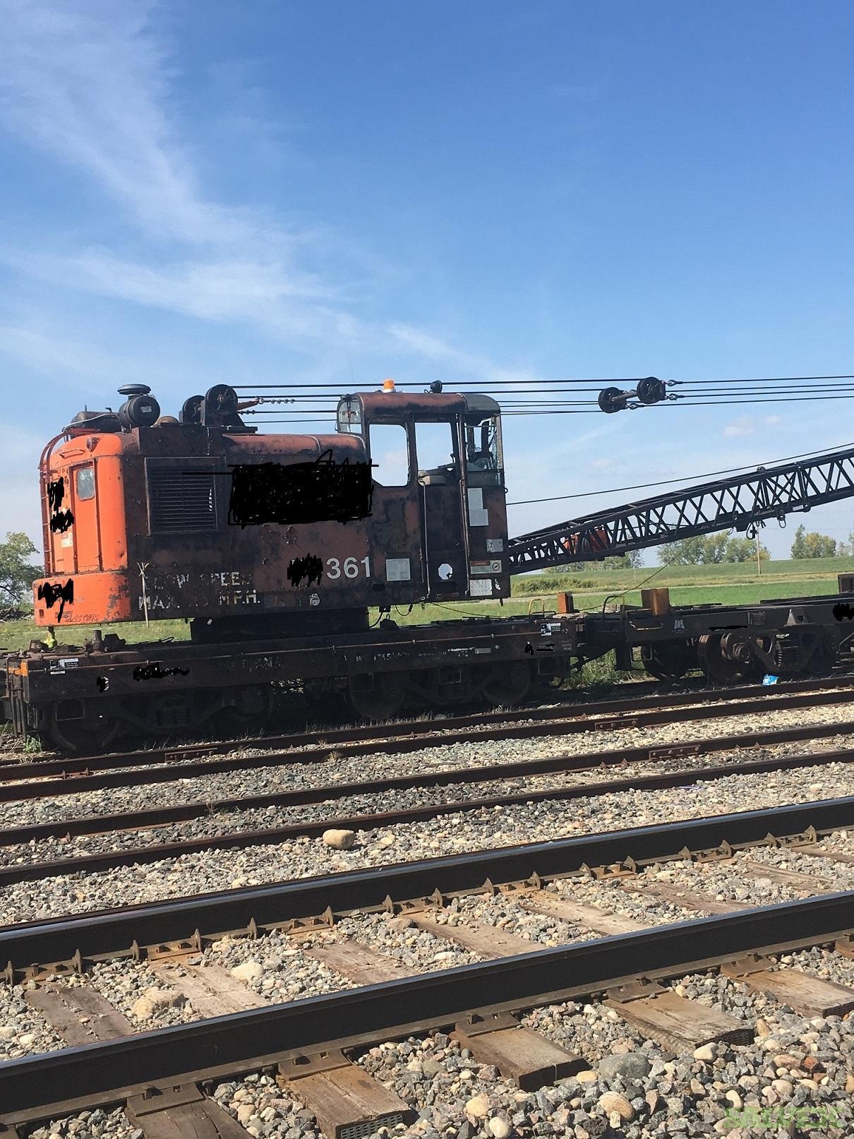 Brownhoist DE-50 Locomotive Crane 50 TON