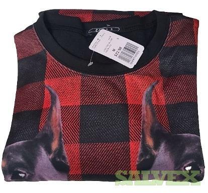 Forever 21 Unisex Dog Print Sweatshirt (1,080 pieces / 40 Boxes)