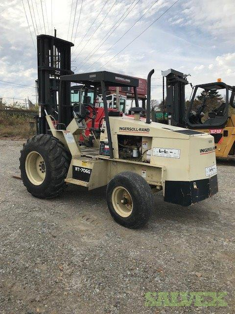 Ingersol Rand RT706G Rough Terrain Forklift 2002 (1 Unit)