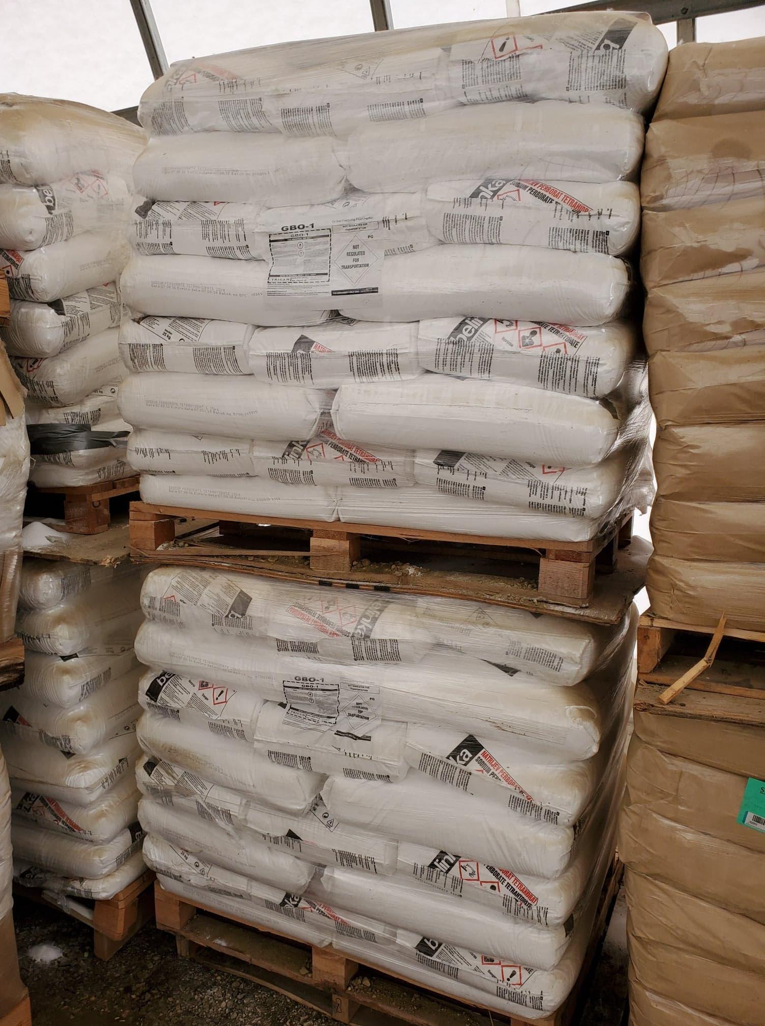 Sodium Perborate Tetrahydrate, Breaker Encap & Encapsulated Citric Acid (12,962.76 Kg)
