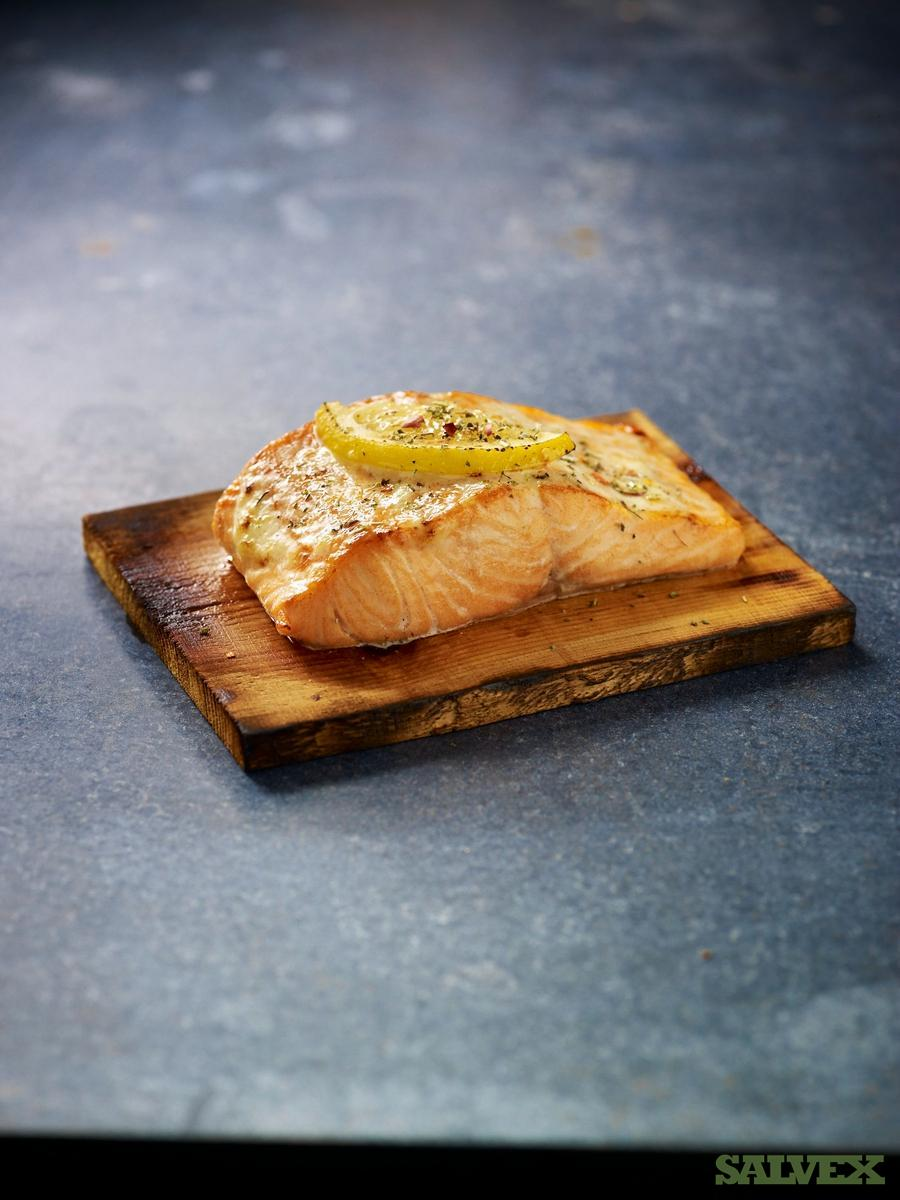 Cedar Plank Boards (Cut for Cooking Single Served Salmon - 56,250 Units )