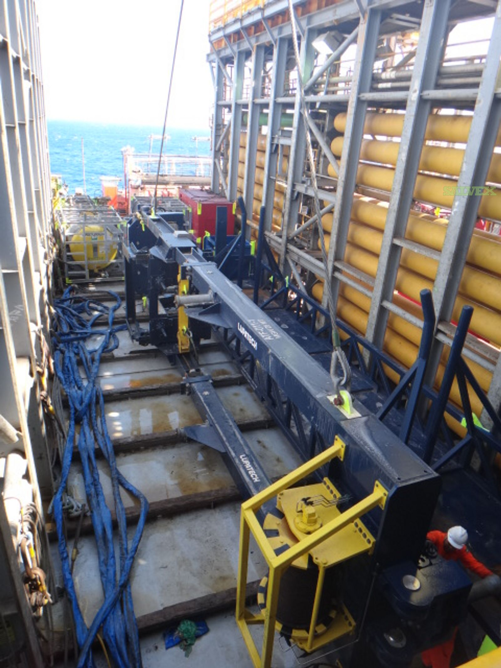Advanced Tension Lifting Frames - for Coiled Tubing Operation (1 Package / 3 Units)