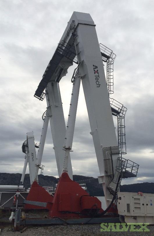 AX-Tech 250-Ton Capacity Hydraulic A-Frames & AHC Skid