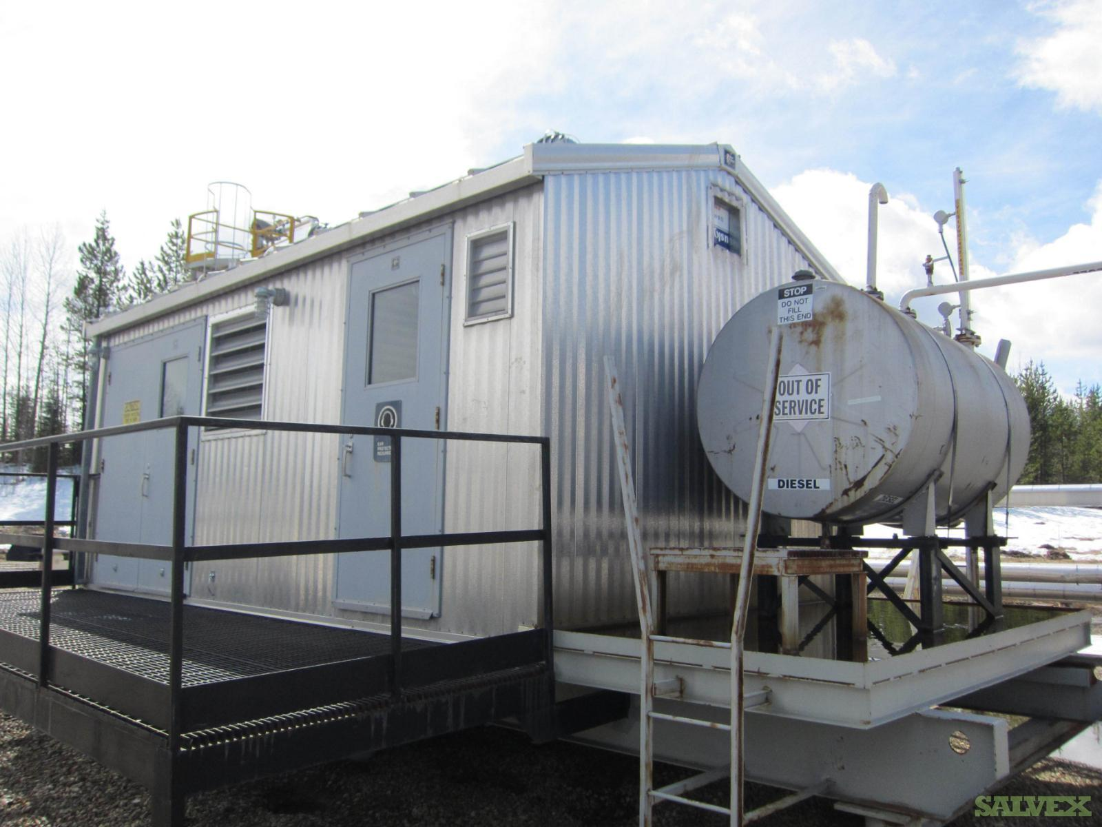 CUMMINGS 20 kW Ford LRG-425I-6005-A Natural Gas Generator Package