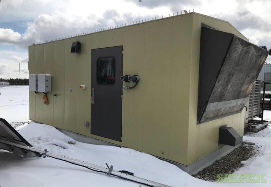 190 kW CATERPILLAR G3406 Natural Gas Generator Package