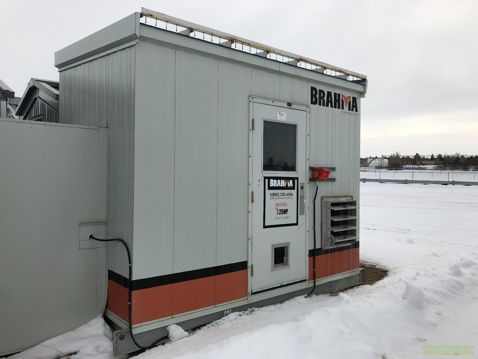 25 hp Marathon Electric E207 TAMROTOR E6G Screw Compressor