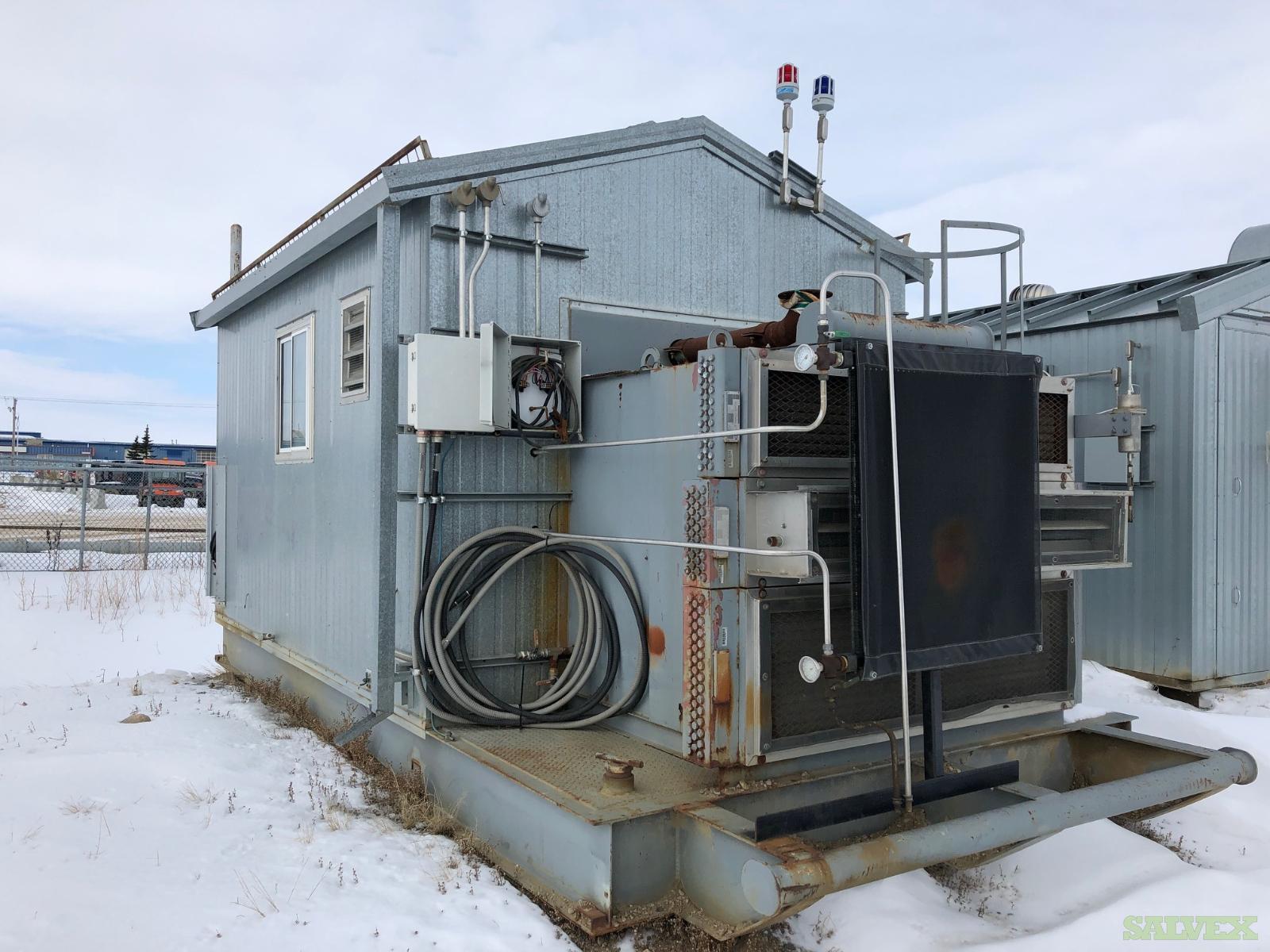 95 hp Caterpillar 3304 Gardner Denver SSHG99B Screw Compressor
