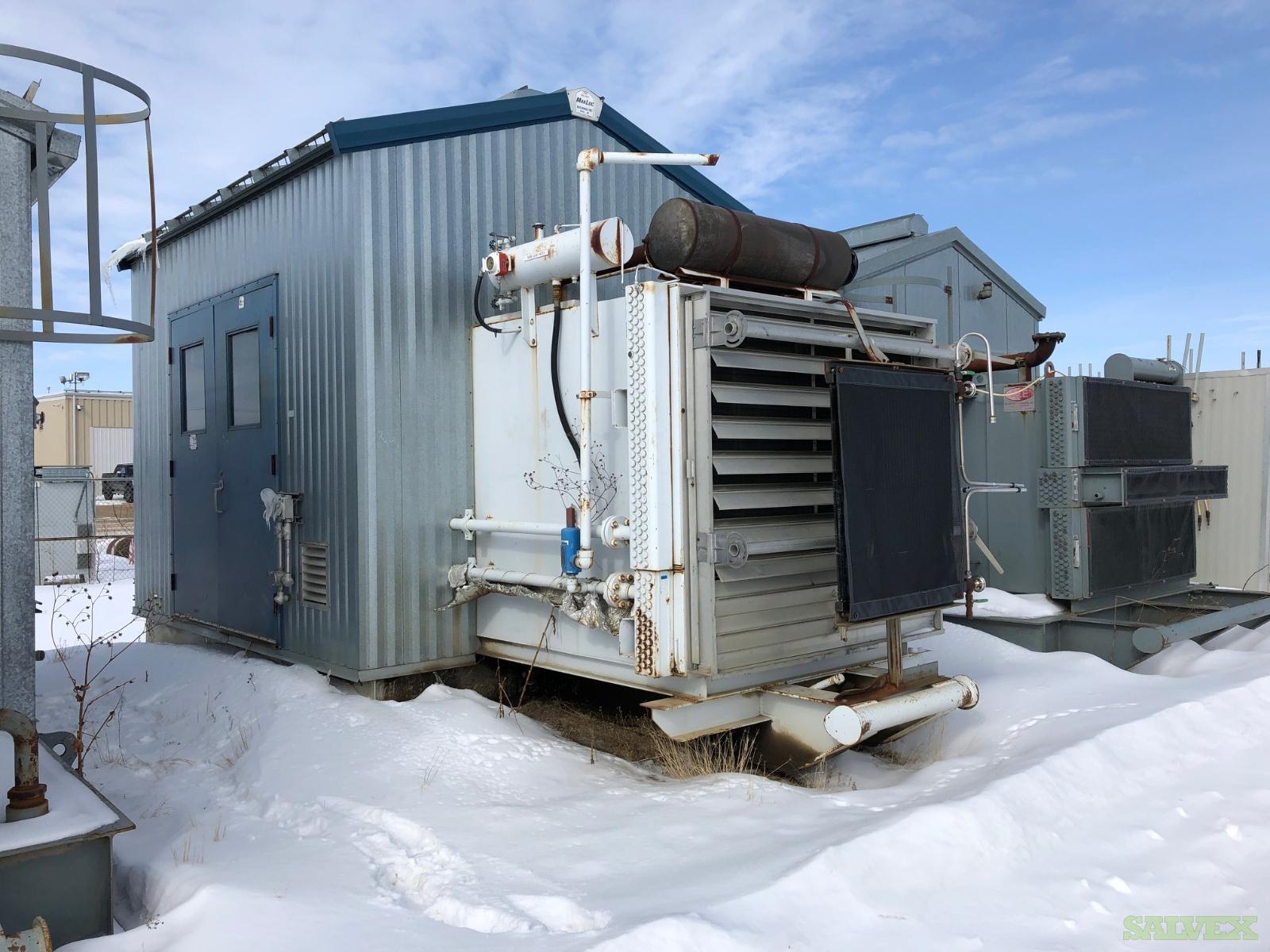 71 hp Caterpiller G3304 Kobelco 16LV Screw Compressor