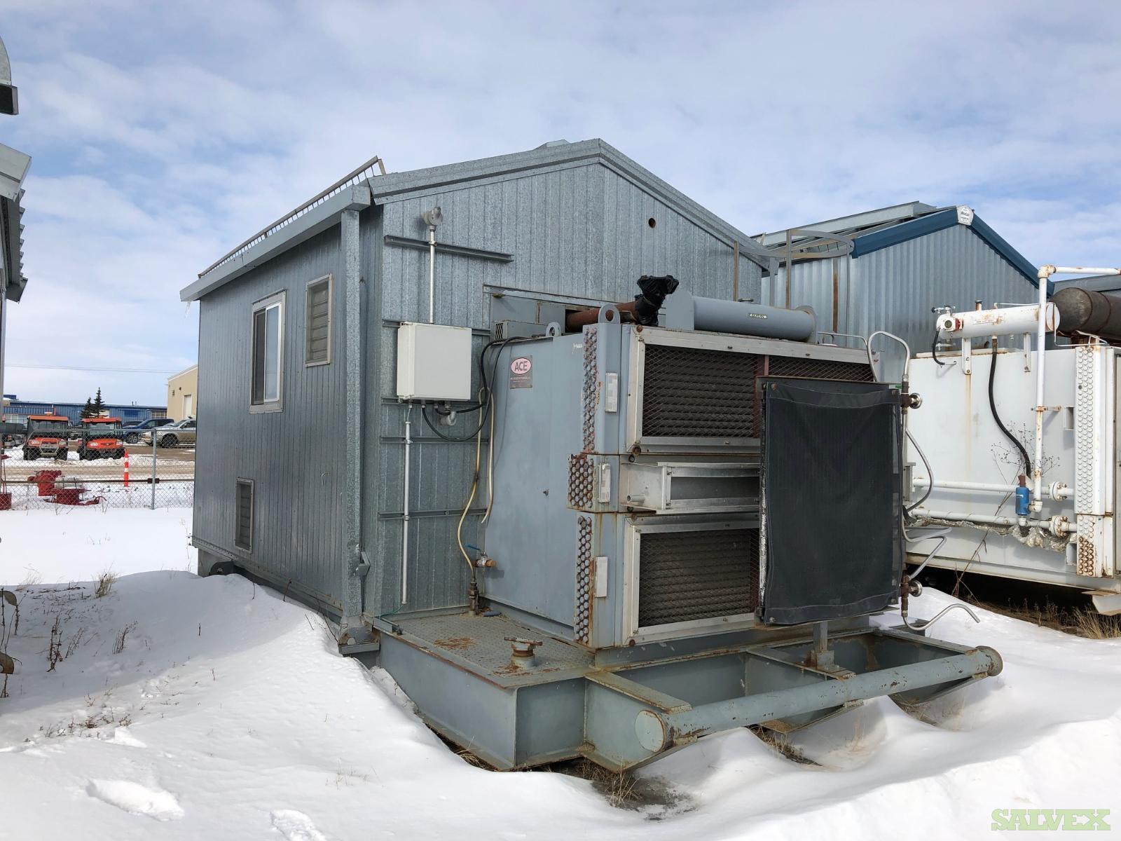 95 hp CATERPILLAR 3304 NA Gardner Denver SSHG99D Screw Compressor