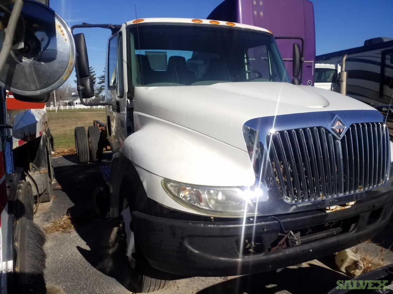Hino 258 Rollback, Freightliner, International and CCC  Trucks with Missing Parts