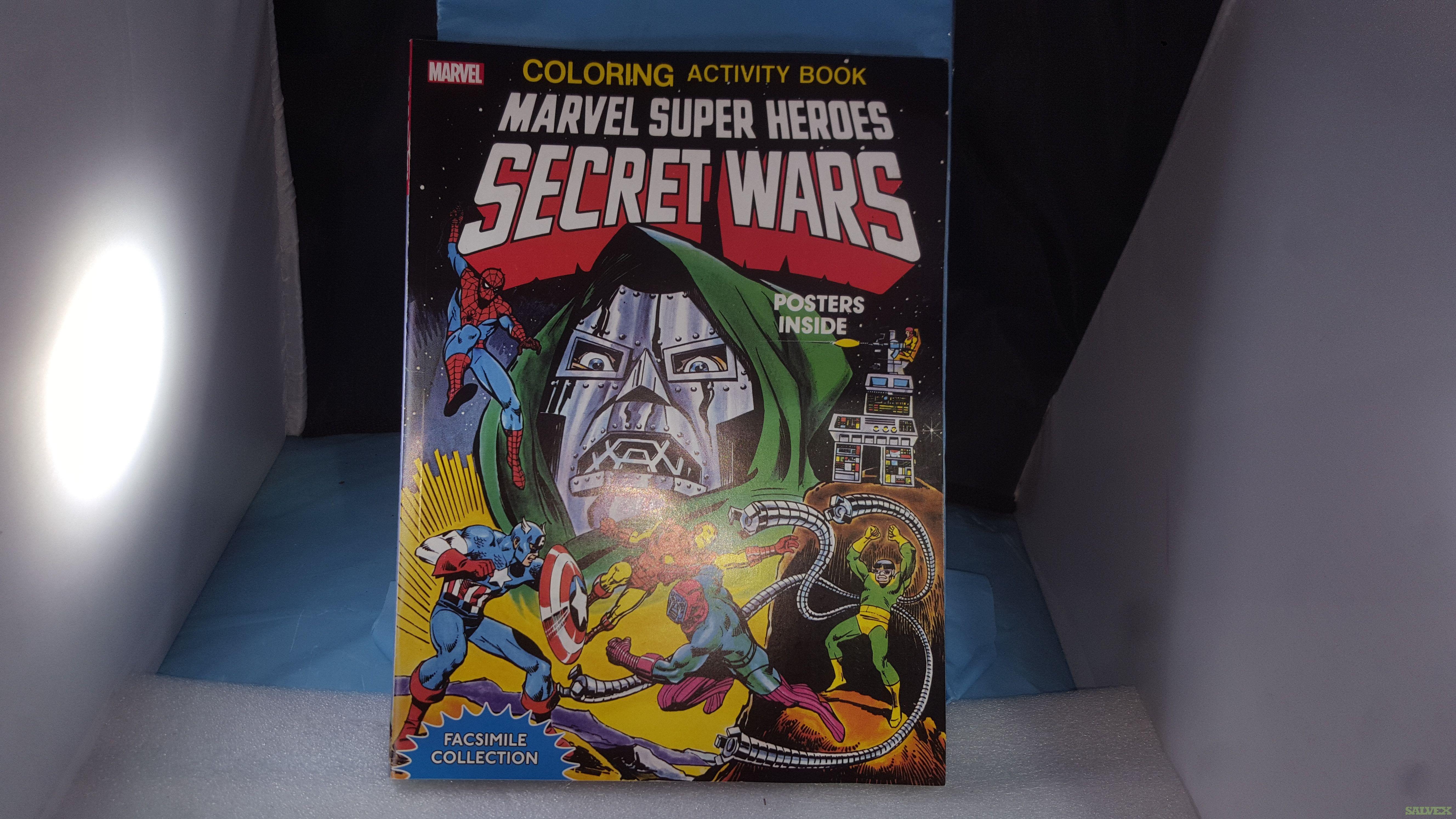 Marvel Super Heroes Secret Wars Facsimile Edition Coloring / Activity Books (400 units)