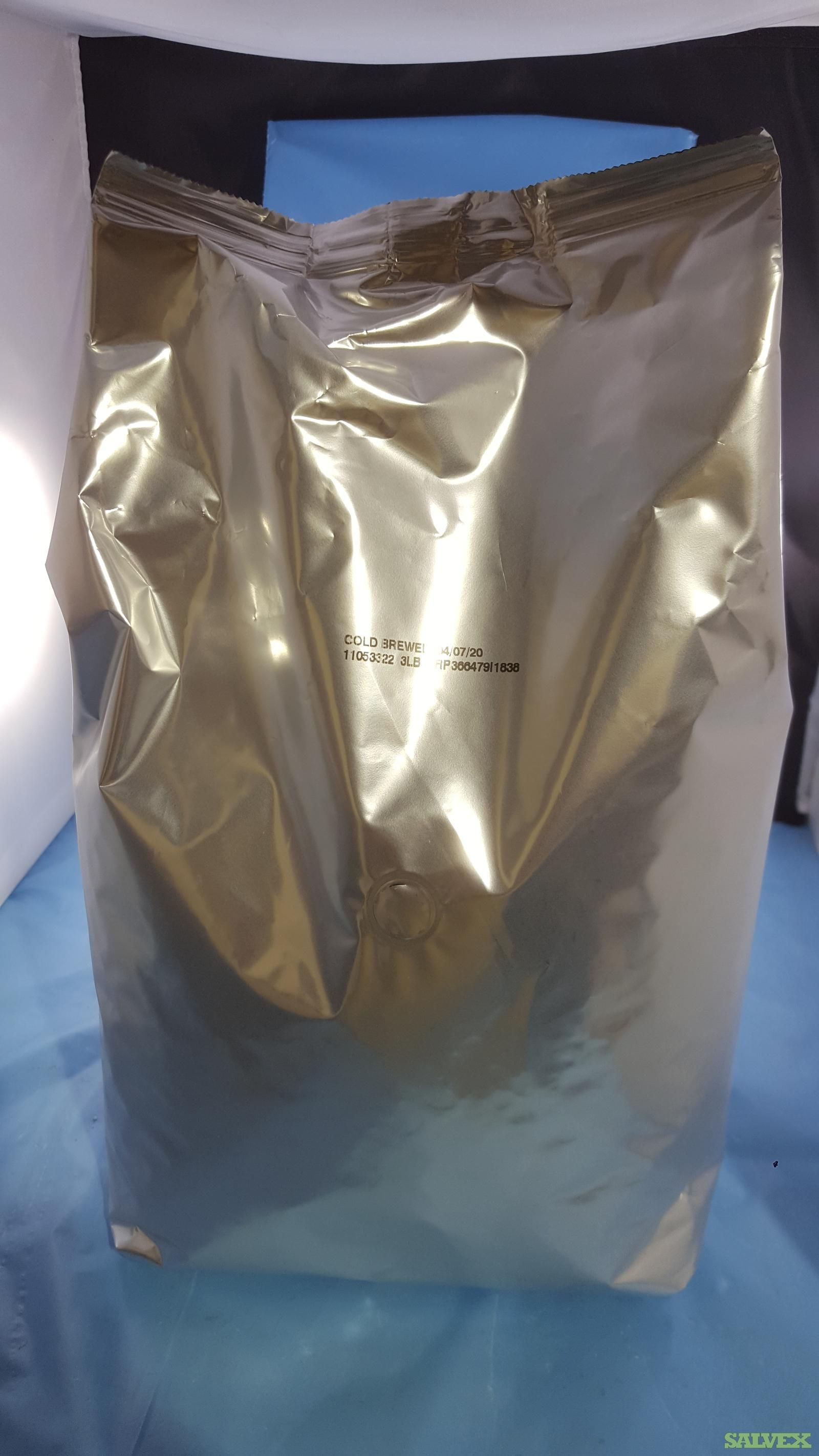 Starbucks Cold Brew Commercial Whole Bean Coffee Bags - Expired (3 Lb Bags - 500 Units)