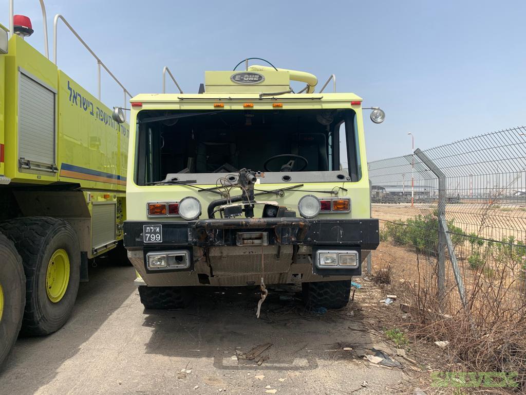 E-One 4x4 ARFF Fire Truck