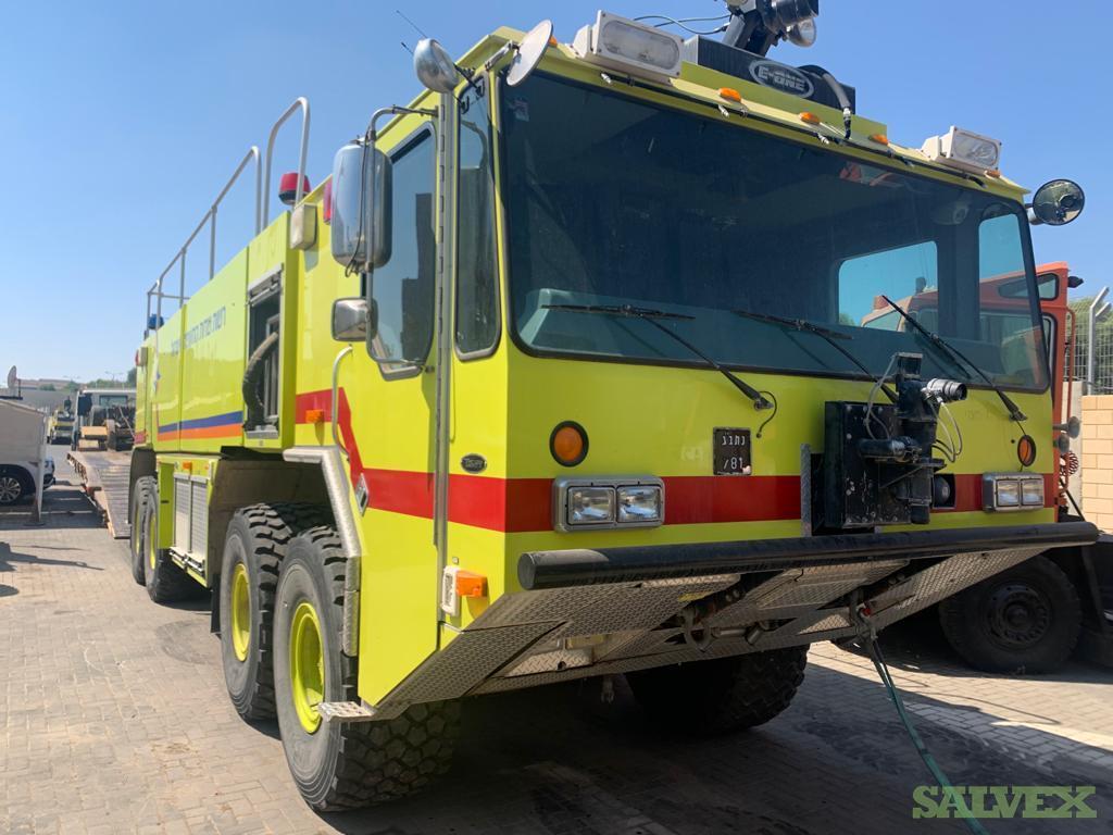 E-One 8x8 ARFF Fire Truck 2007