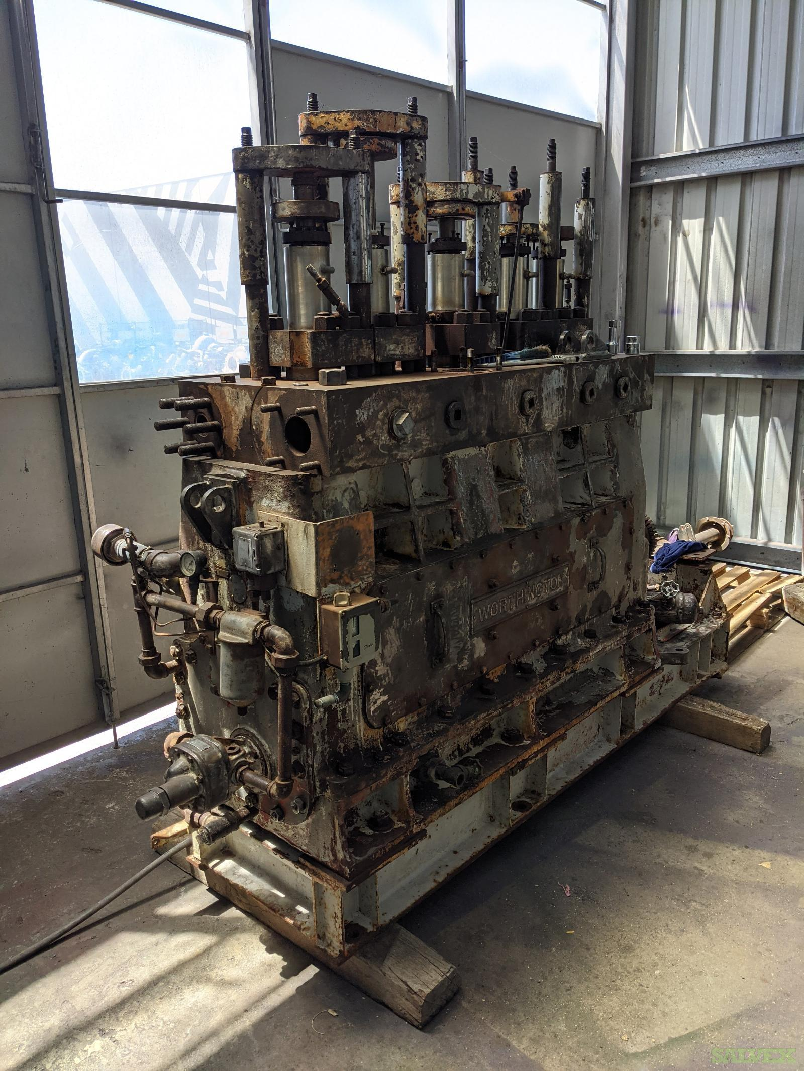 Ingersoll Rand & Worthington Large Positive Pressure Plunger Pumps (4 Units)
