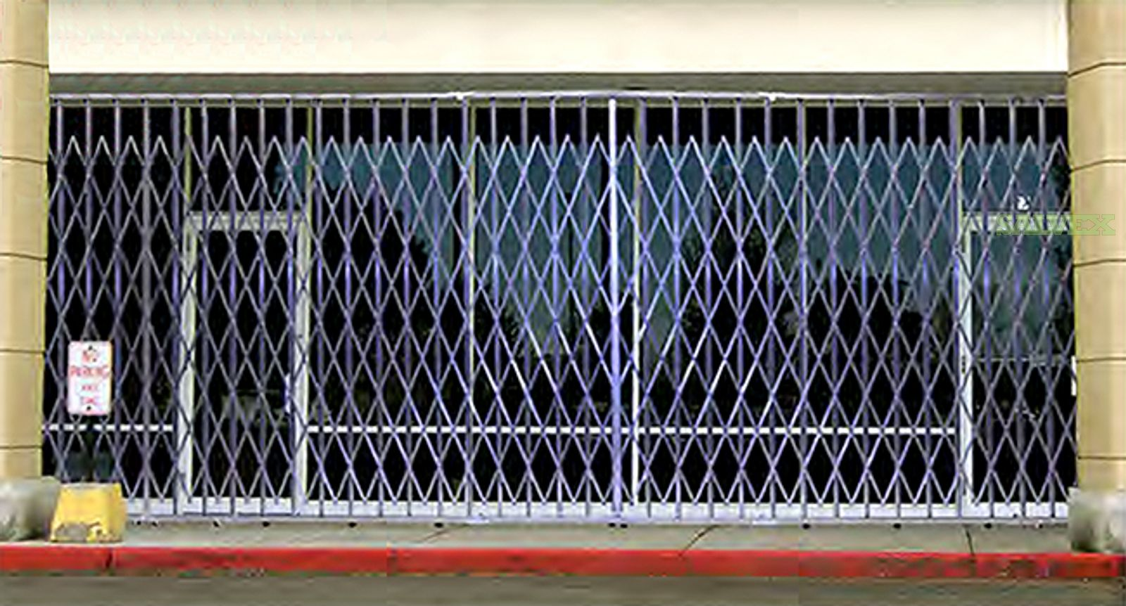 Commercial Storefront Security Grill (160 Ft) in California