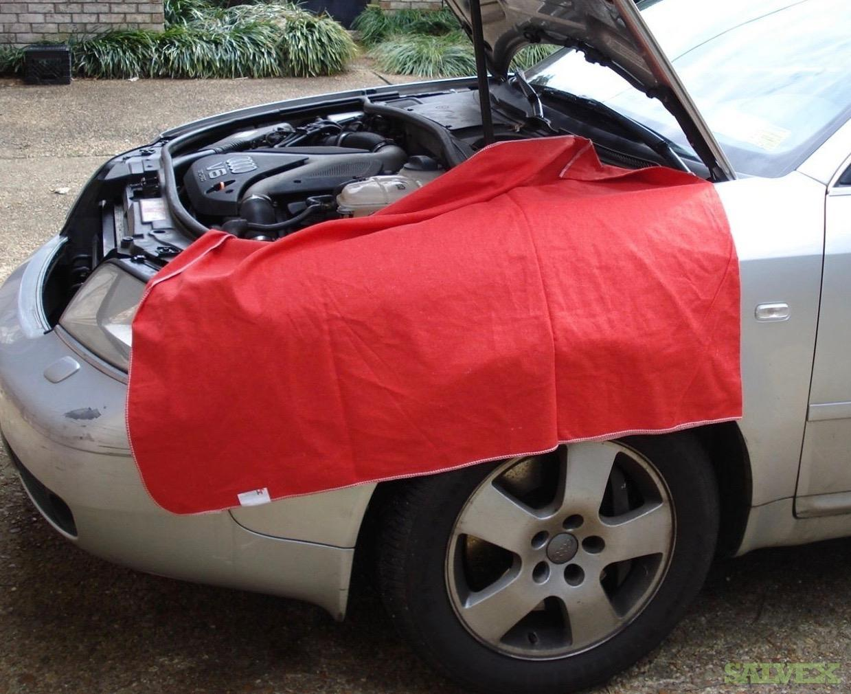 Flannel Fender Covers & Seat Covers (17,250 Pieces)