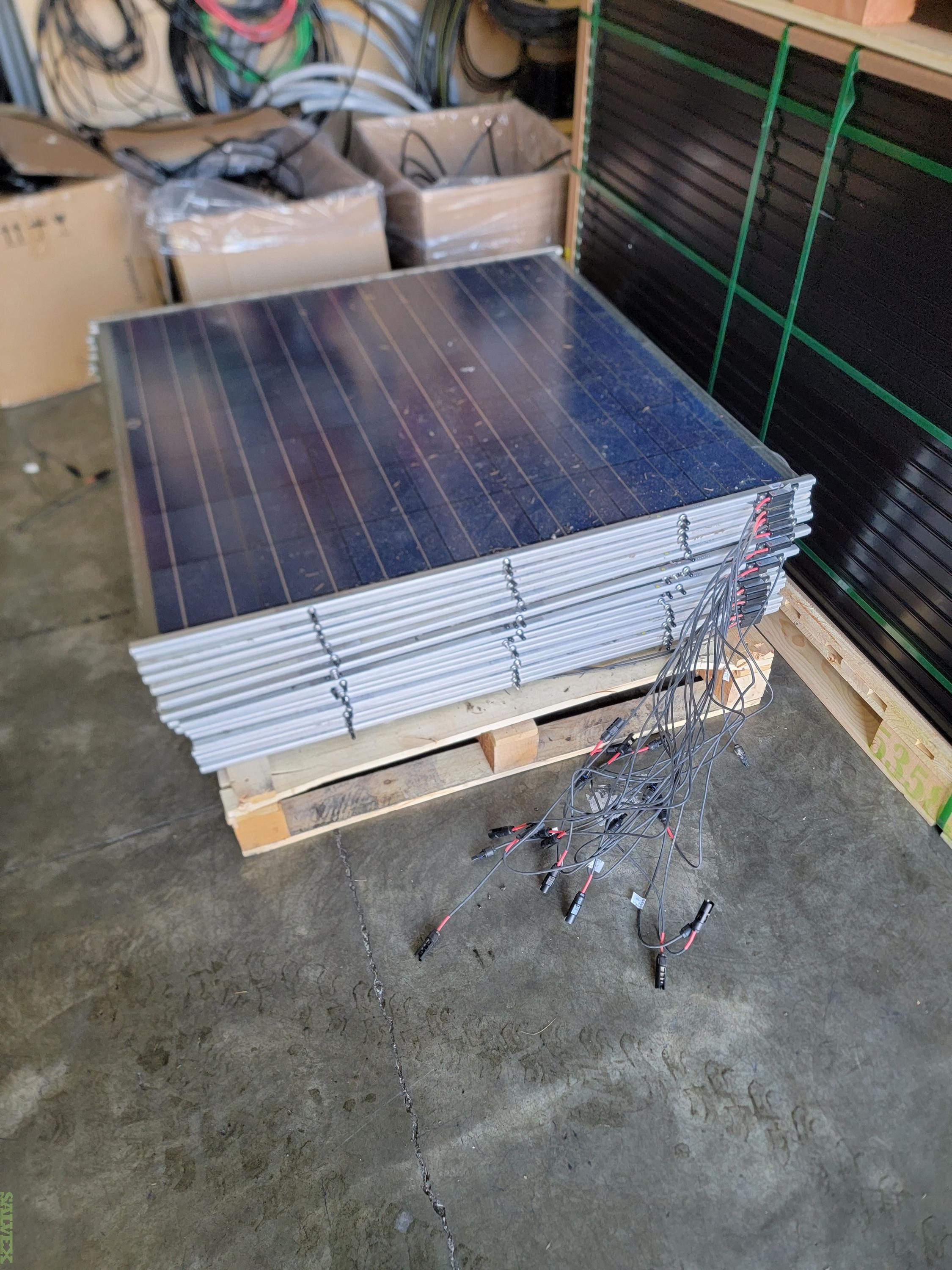 Silicon Energy Glass on Glass Panels (79 Units)