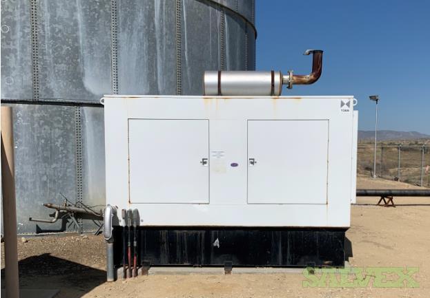 Emerson Diesel Generator Powered by 465HP Cummings Engine 300Kw (1 Unit)