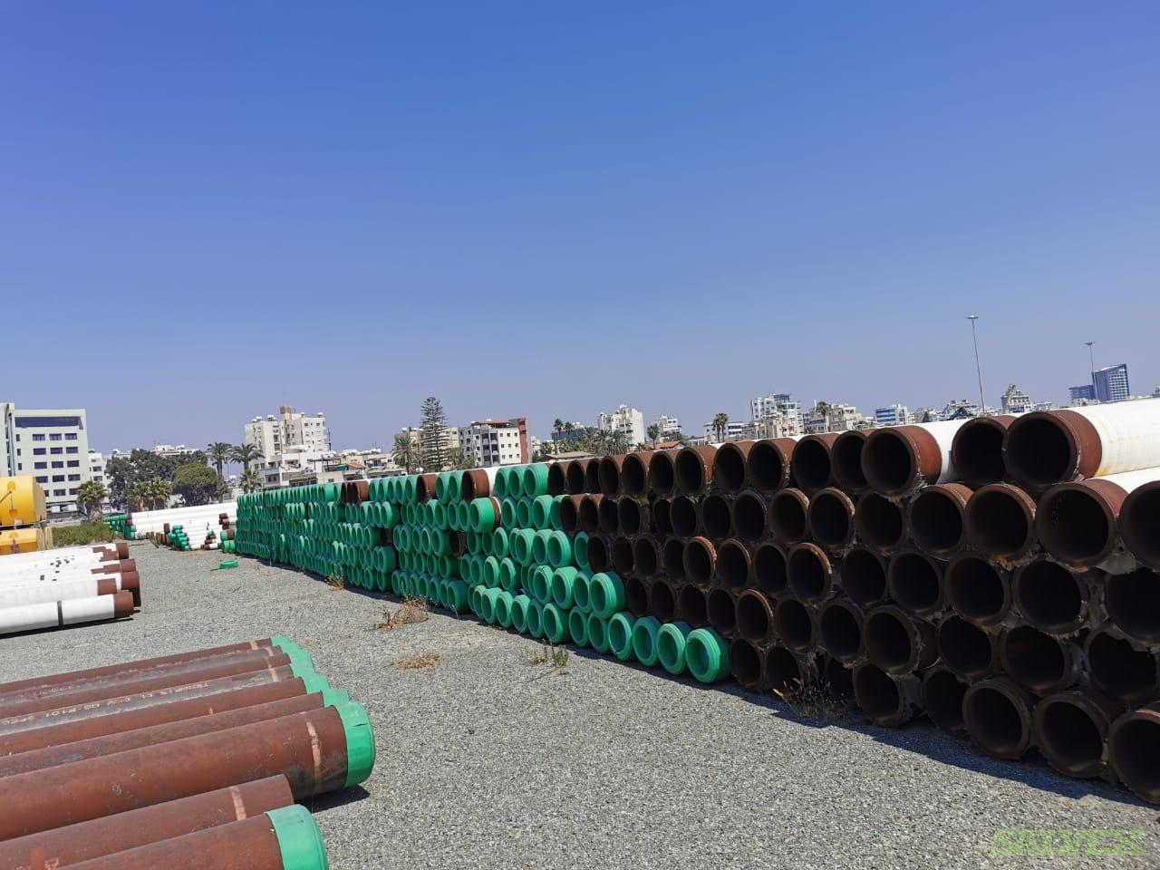 18 217.51# Surplus Line Pipe (204 Metric Tons)