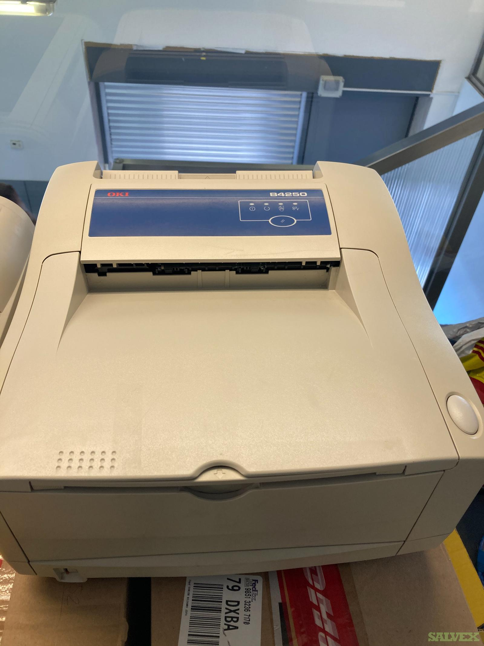 OKI Printer B4250, Microline 5591, Canon DR3060 and PSION 4 Slots Cradles