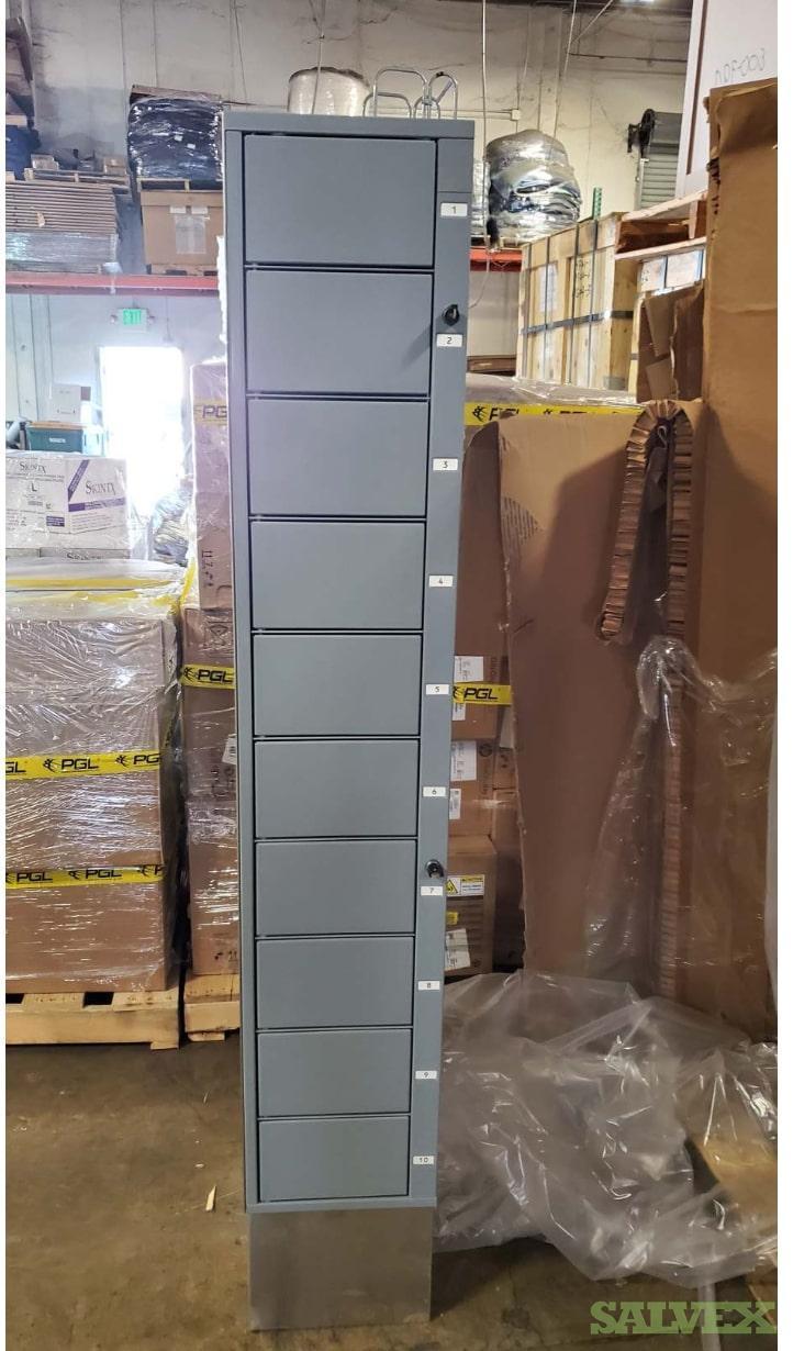 Metal Lockers for Laptop Storage