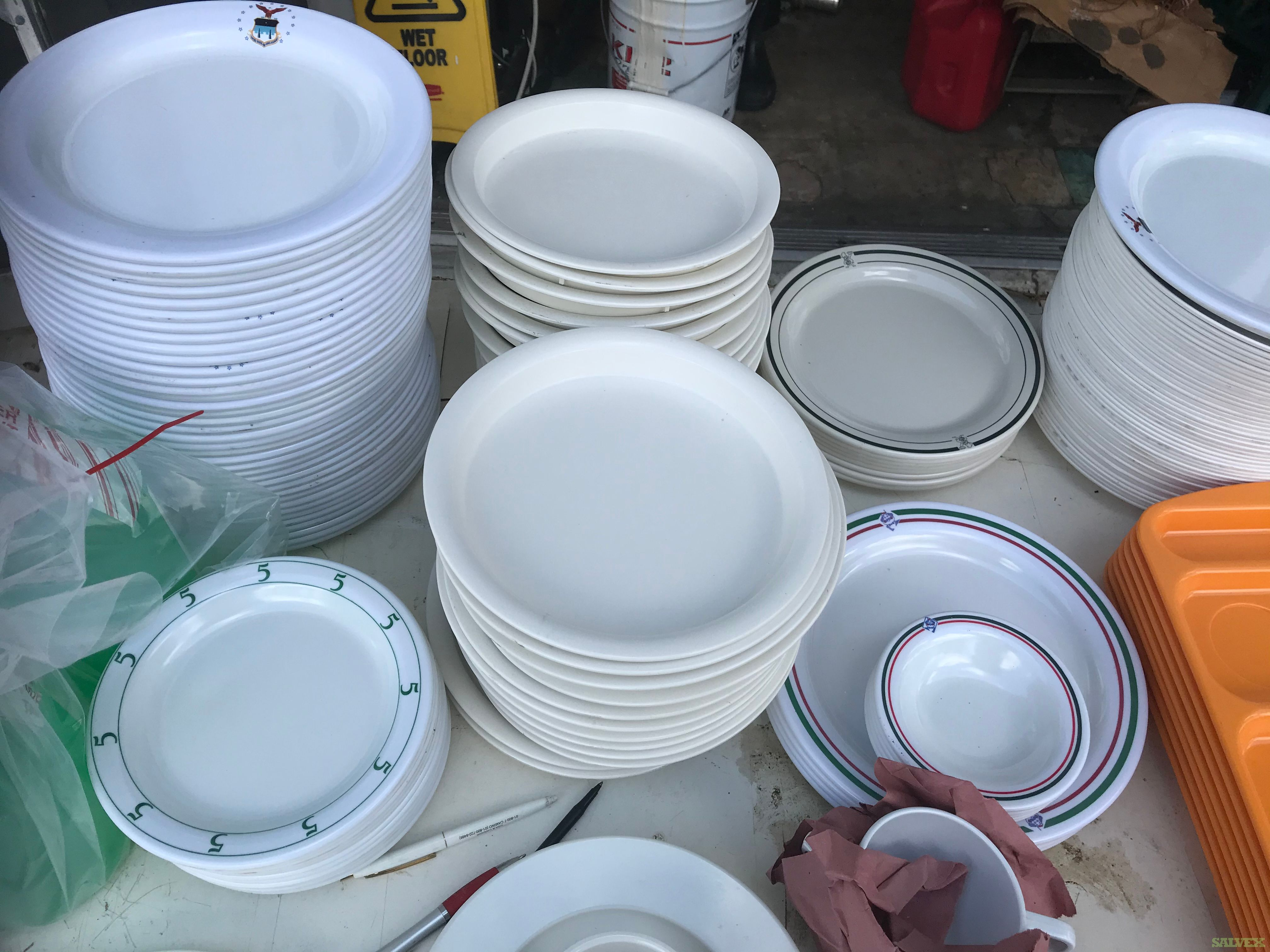 Melamine Dishes Bowl Plates Platters Cup (10,000 units)