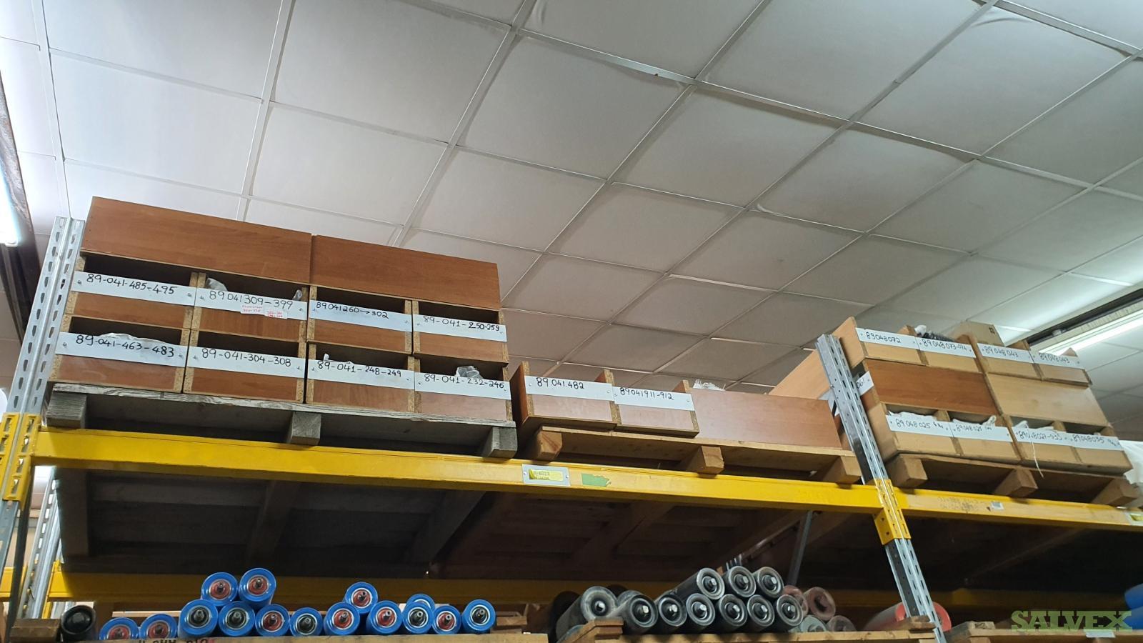 Hyundai Diesel Power Generator - Spare Parts: 4X1.5MW Himsen 8H21.32 (Package of 402 Items)