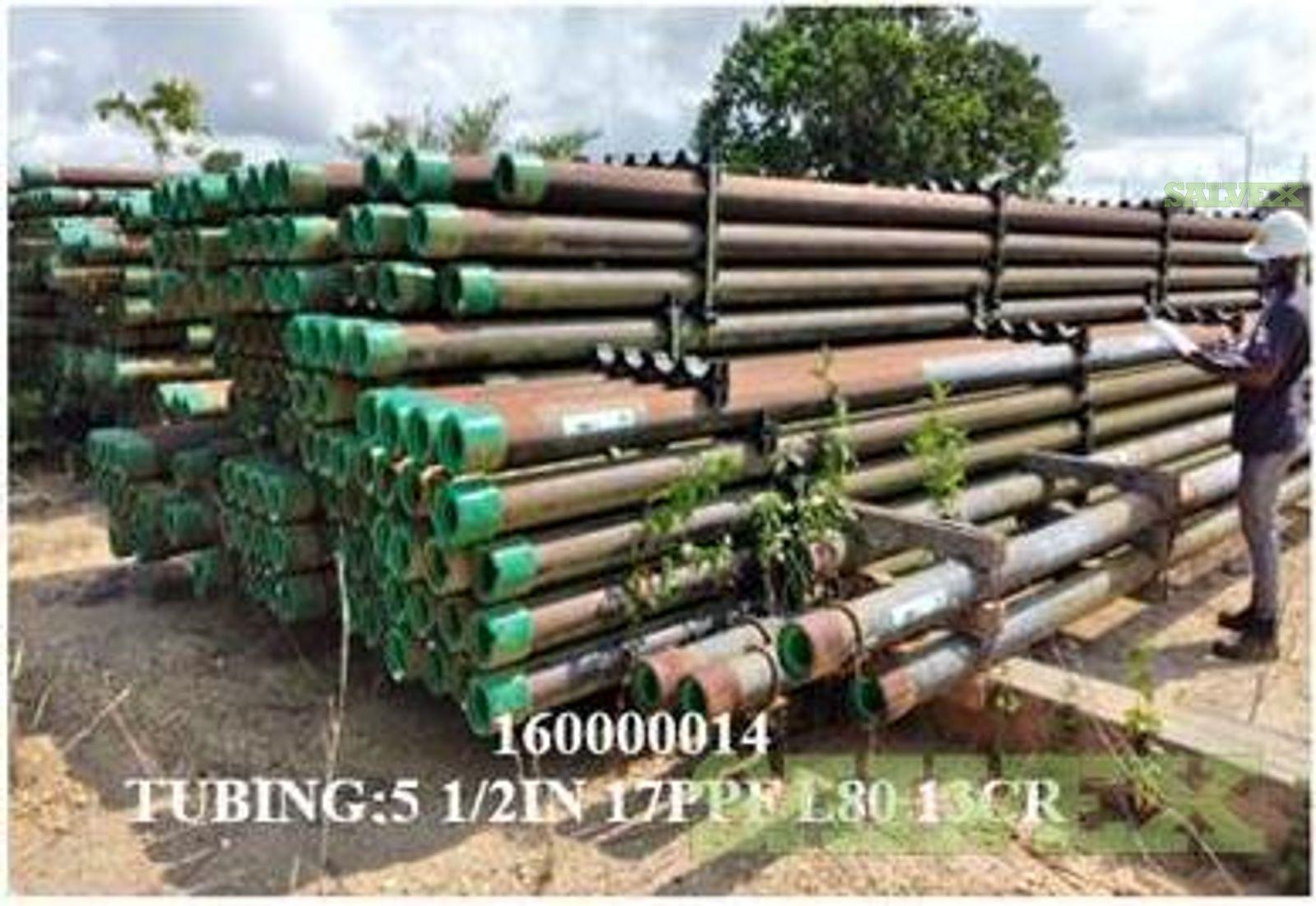 5 1/2 17# 13CRL80 R3 Surplus Tubing (17,440 Feet / 134 Metric Tons)