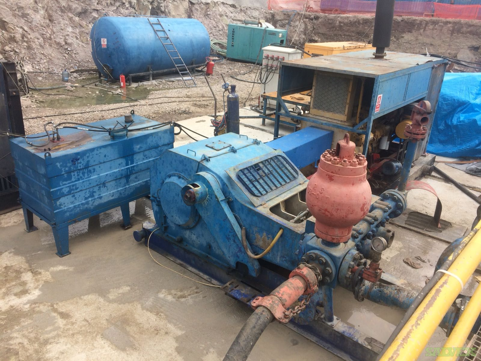 Gefco SS 185 K Complete Package Hydraulic Drilling / WO Rig (1 Unit)