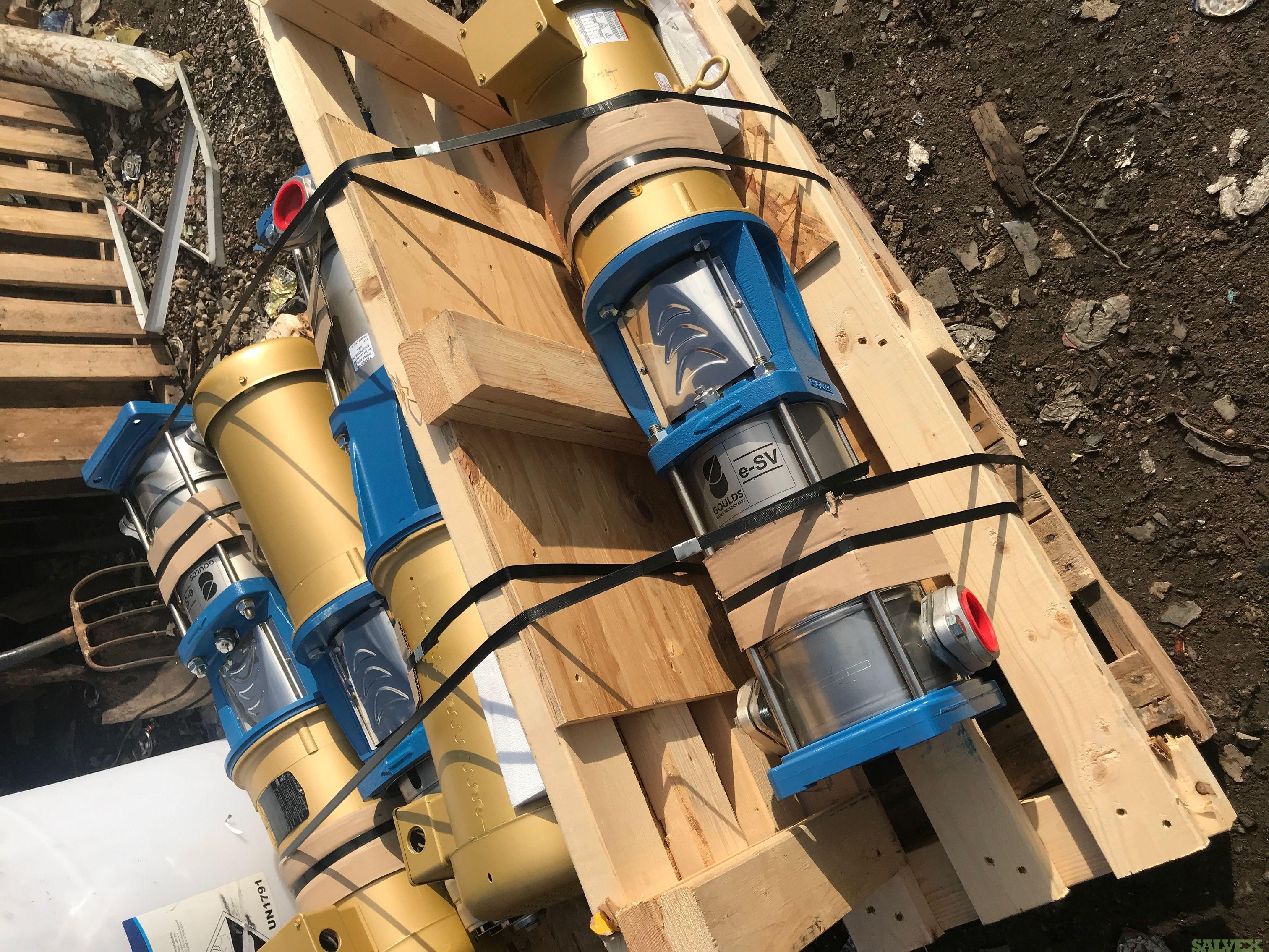 Goulds e-SV Vertical Multi-stage pumps - 4 units