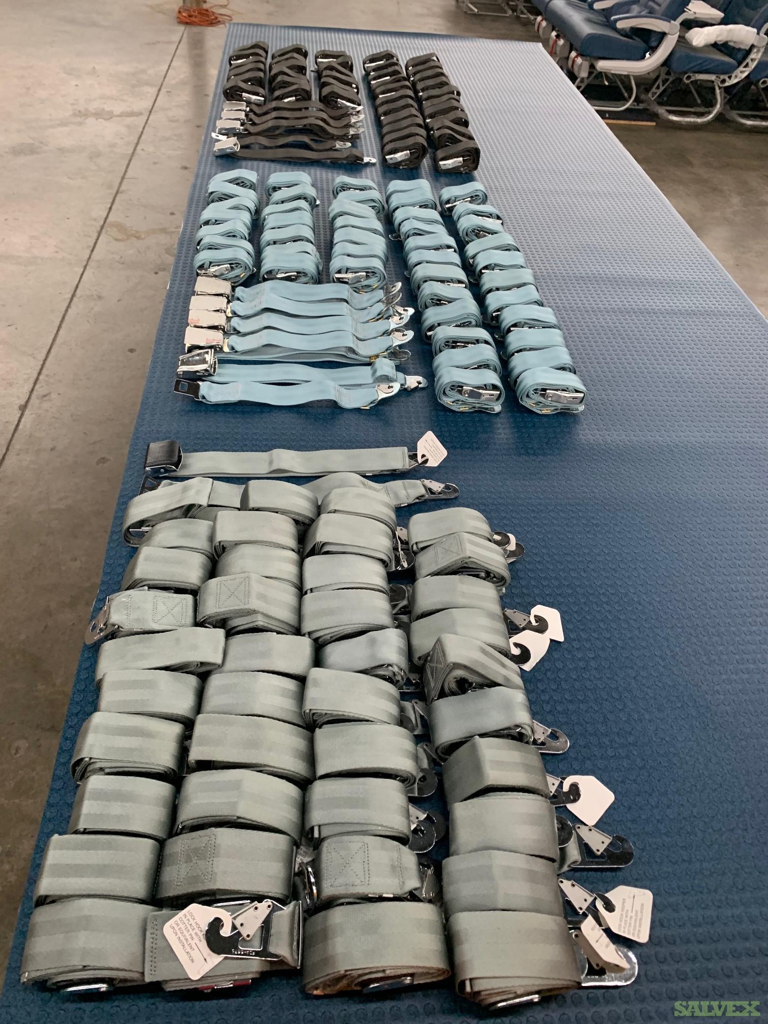 Aircraft Seat Belts - New Surplus (134 Items)