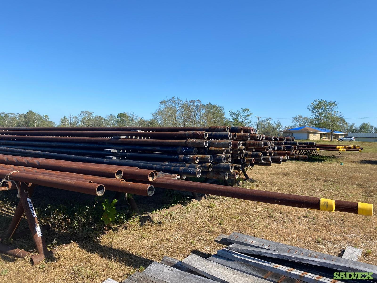 3 1/2 28# R2 Surplus Drill Pipe (315 Feet / 4 Metric Tons)