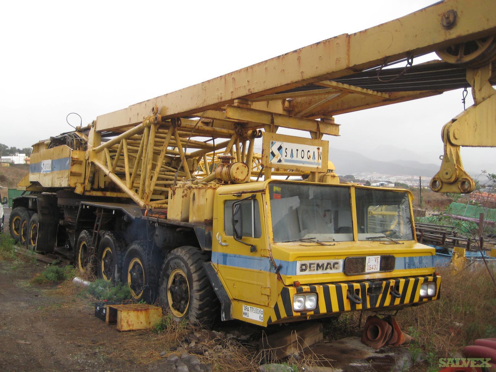Demag TC 1200 Boom Crane 1975