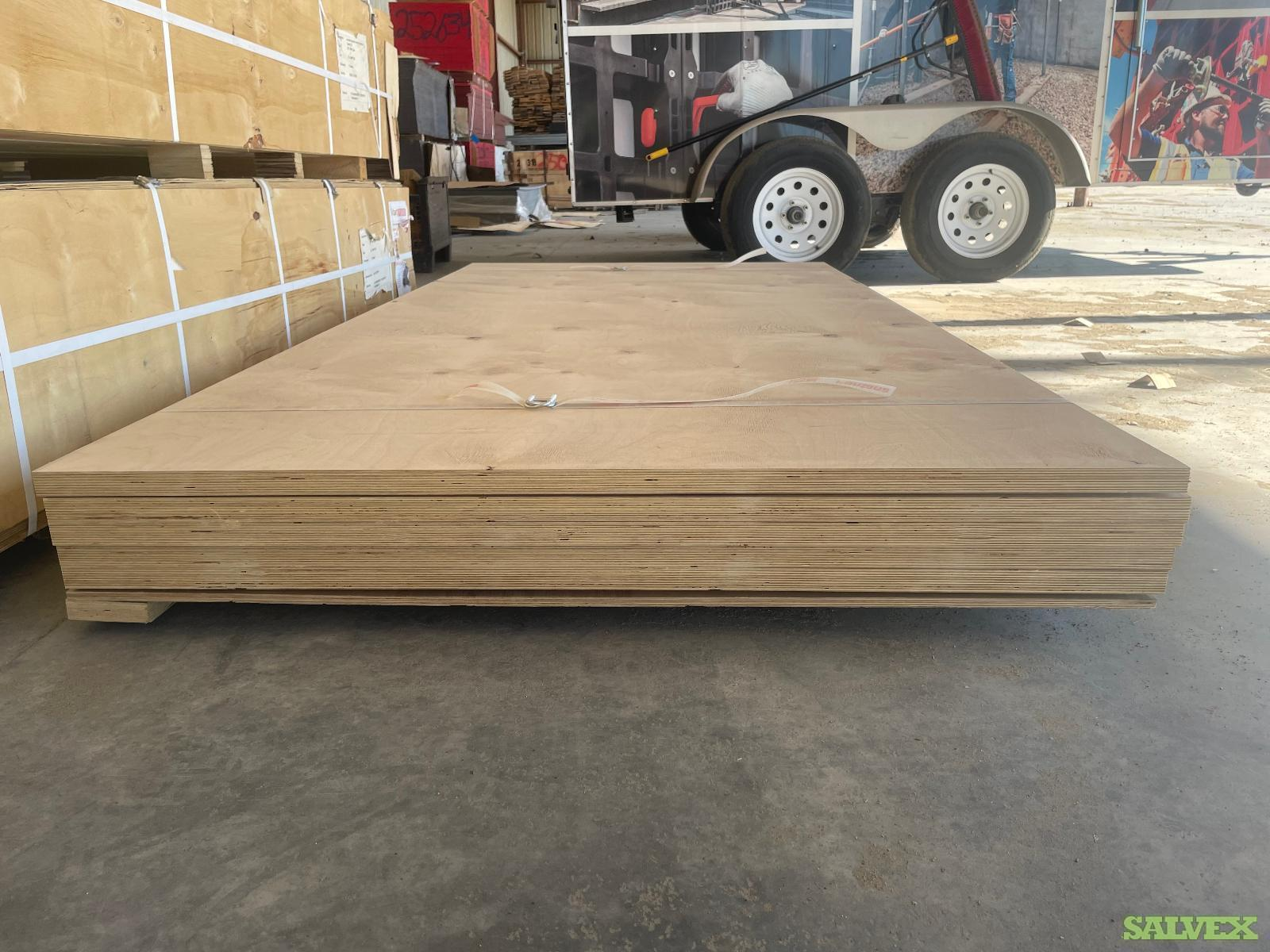 C/C Russian Birch Plywood 27mm (1 Inch) x 4 'x 8'  -  Approx 360 sheets /  in Baltimore, MD - L5