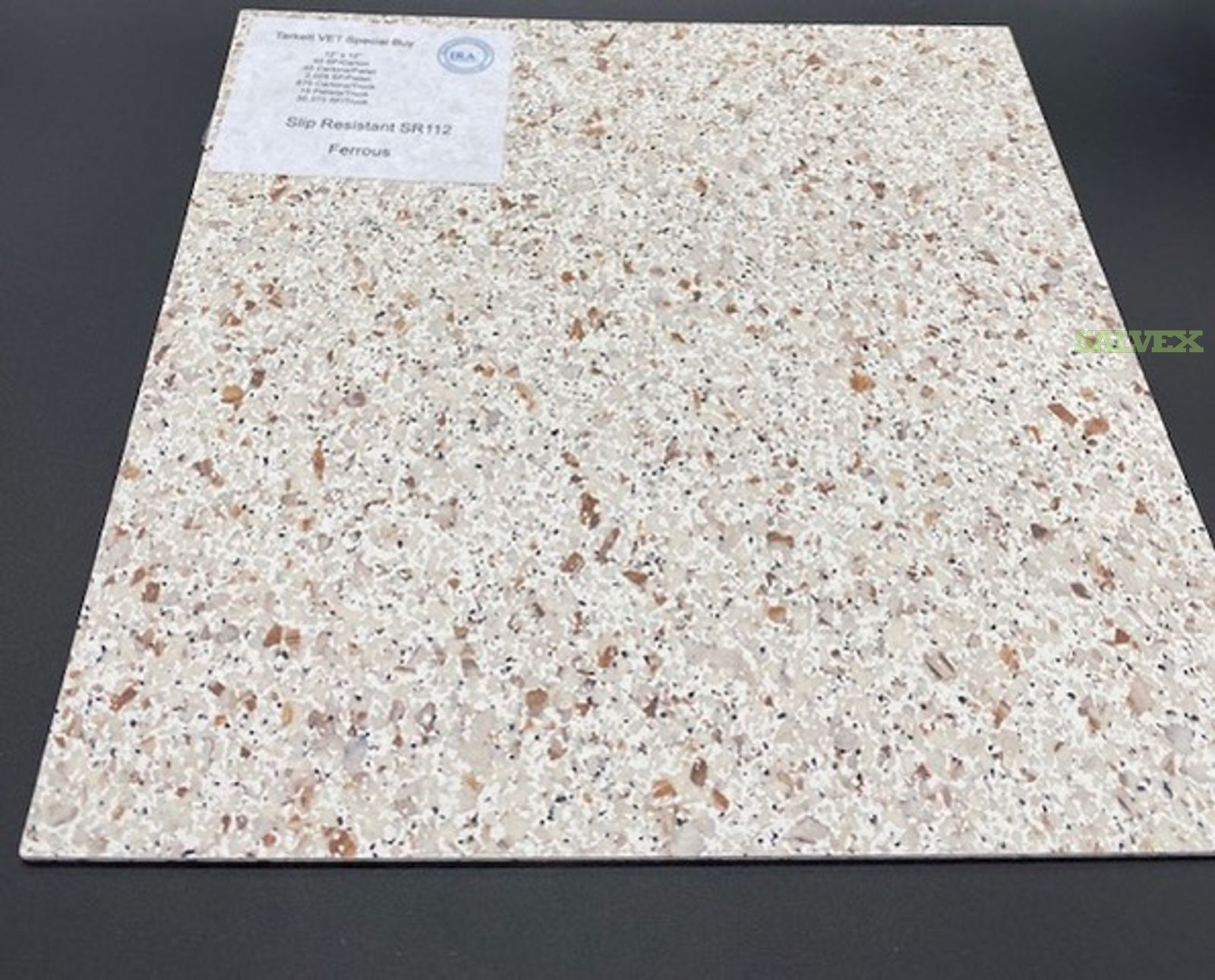 Tarkett / Azrock VET (Vinyl Enhanced Tile) Flooring ( 1 Pallet)