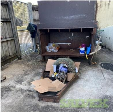 PTR TP2000E 2 Yrd Cardboard Compactor  W/ 40 Yd Container