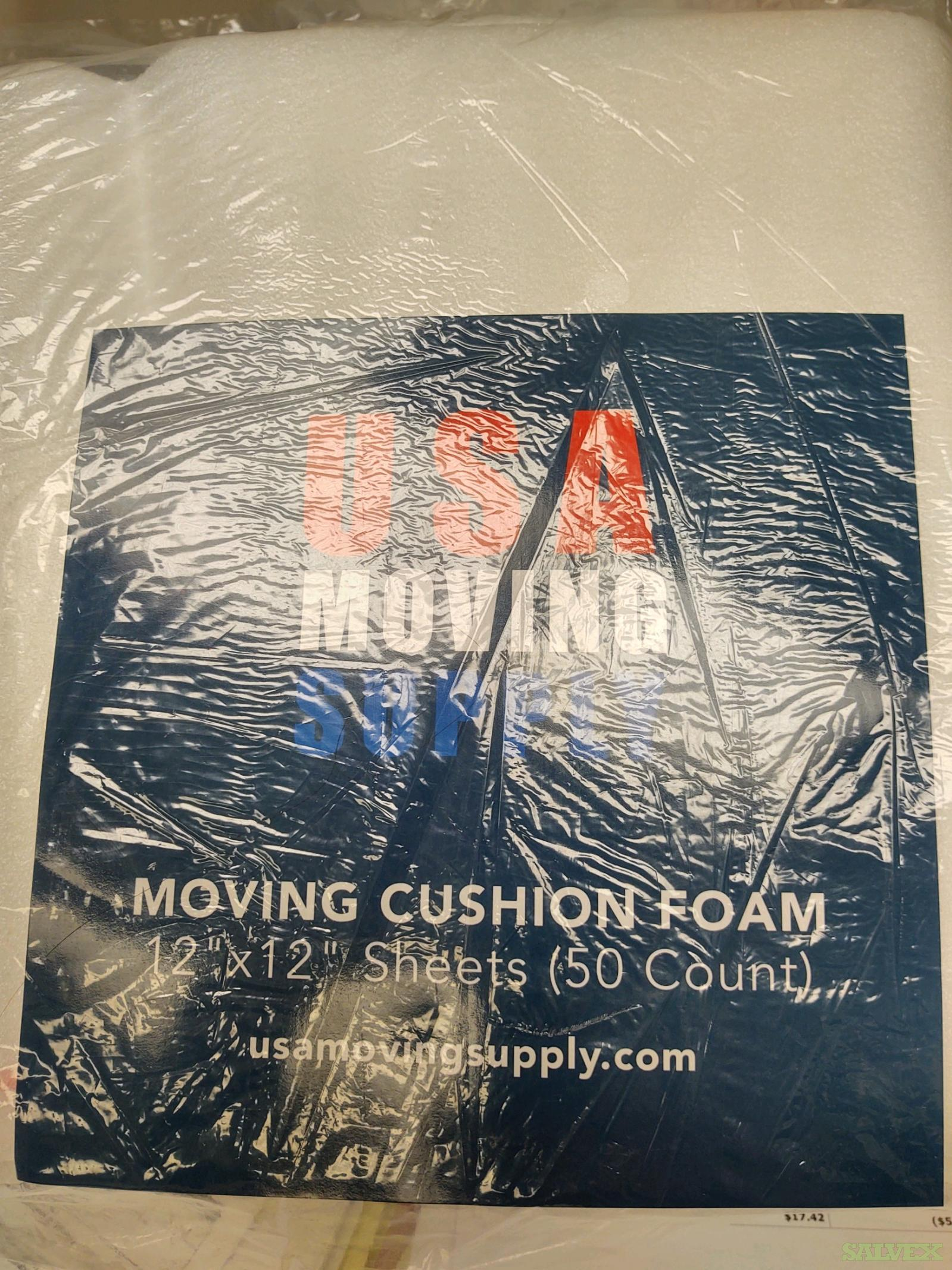 12'' x 12''  Moving Cushion Foam/ 50 Count ( 675 / Packages) in Buffalo, New York