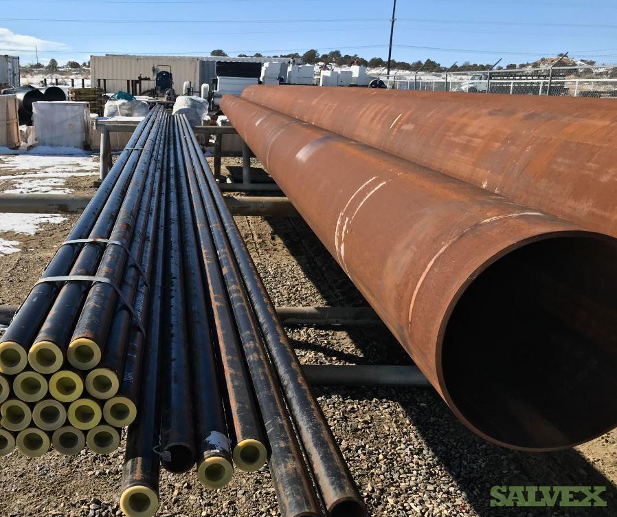 1 1/2 - 24 Surplus Line Pipe (2,814 Feet / 17 Metric Tons)