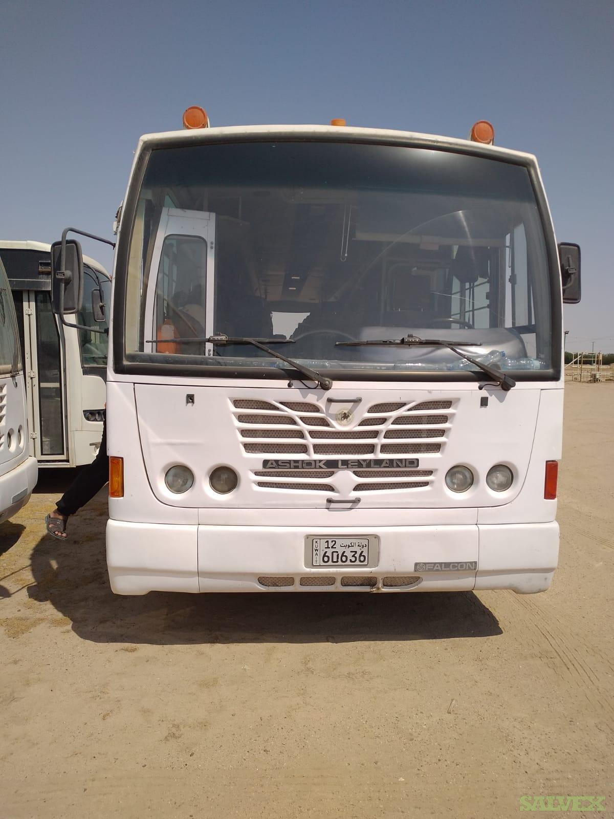 Ashok Leyland 55 Seats Bus , Air Conditioned (26 Units)