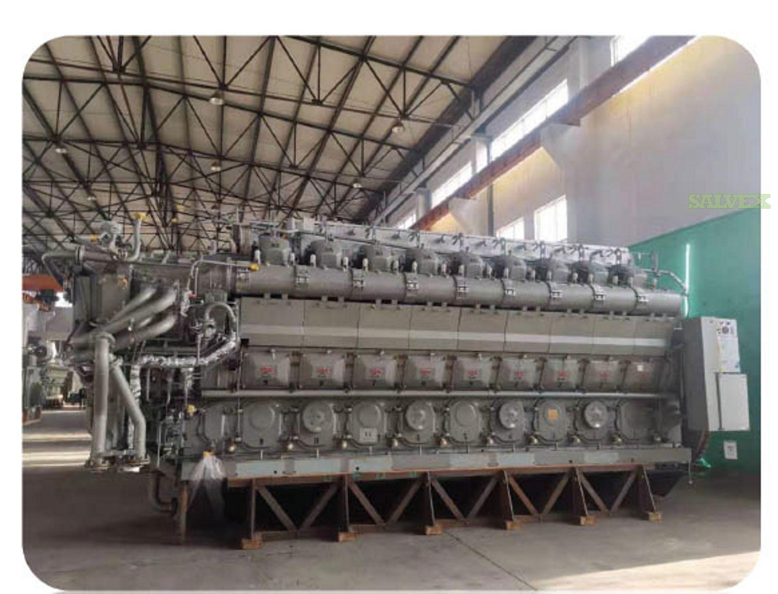 STX MAN 18V 32/40 HFO/DIESEL Generator Set