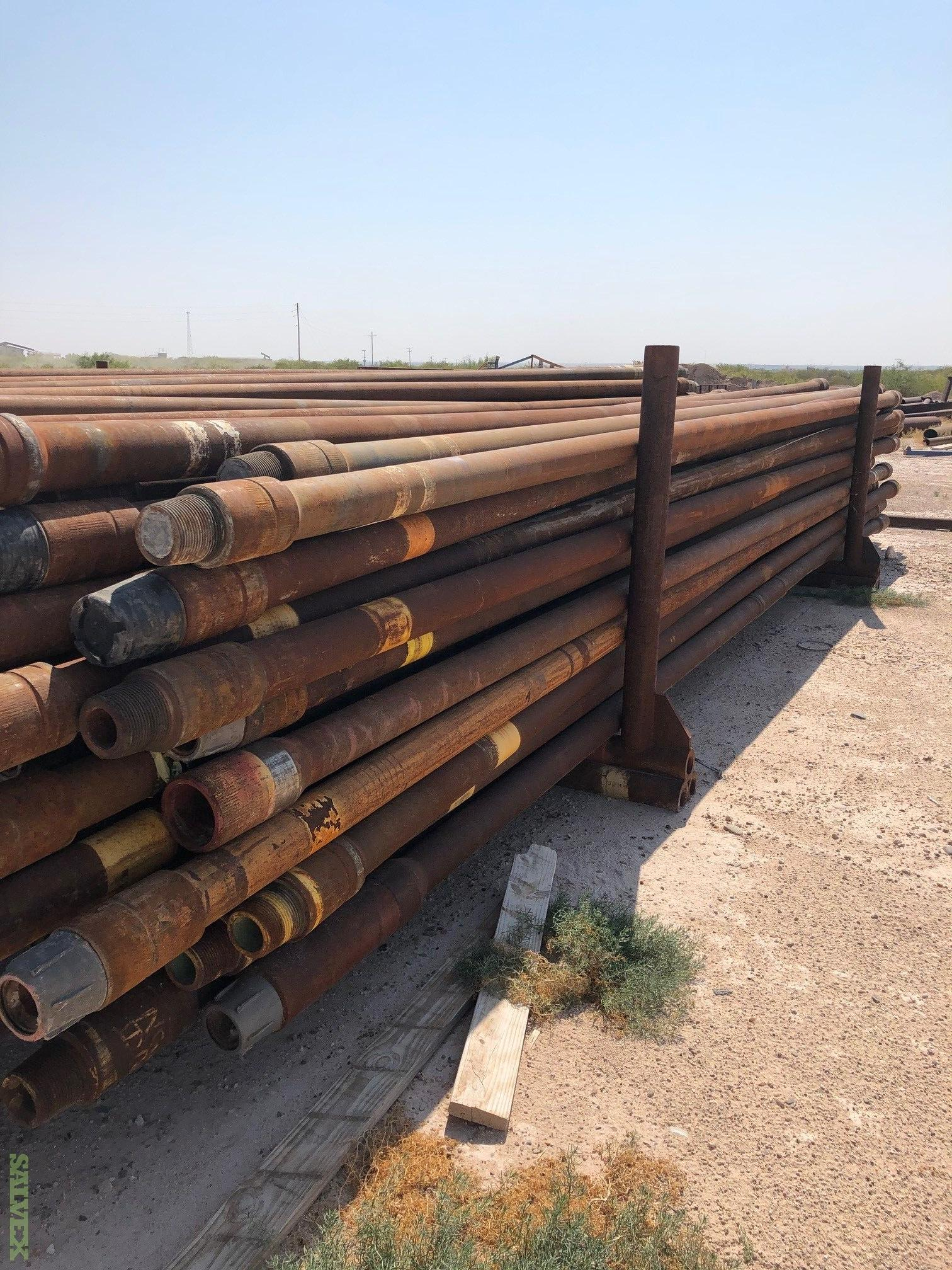 5 19.50# S-135 NC50 Surplus Drill Pipe (64 Metric Tons)